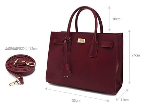 MCLANEE Romantis Tote & Cross Bag - Size